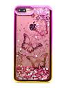 For iPhone 7 Plus 7 TPU Material Plating Laser Carving Quicksand Phone Case 6s Plus 6 Plus 6S 6 SE 5s 5