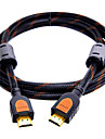 SAMZHE   SM-805 HDMI 2.0 Cable HDMI 2.0 to HDMI 2.0 Cable Male - Male Gold-Plated Copper 0.5m(1.5Ft)