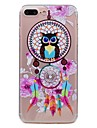 Pour apple iphone 7 7plus telephone etui tpu materiel windset motif hibou papier peint 6s plus 6plus 6s 6 se 5s 5
