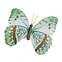 ieftine Modele Ecran-autocolante strălucire-în-întuneric acasă fluture 3d fluture de perete cu pini&perdele magnet pentru decorare frigider