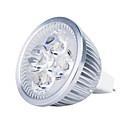 hesapli LED Spot Işıkları-3000lm GU5.3(MR16) LED Spot Işıkları MR16 4 LED Boncuklar Yüksek Güçlü LED Sıcak Beyaz 12V