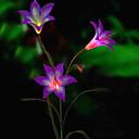 billige Herreklokker-solenergi ledet blomst lys (1049-cis-28080)