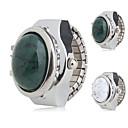 رخيصةأون قلادات-نسائي سيدات ساعة حلقة ياباني كوارتز فضة ساعة كاجوال مماثل سحر موضة - أبيض أخضر