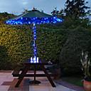 preiswerte Ausgefallene LED-Lichter-Solar-100-LED Blue Light Outdoor-Lichterkette Weihnachtsdekoration Lampen