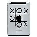 hesapli iPad Stickerları-1 parça Arka Koruyucu için Oynanan Apple Logosu iPad Mini 1/2/3