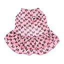 tanie Ubranka i akcesoria dla psów-Psy Sukienka Ubrania dla psów Kokarda Różowy Bawełna Kostium Na Lato
