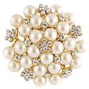 ieftine Broșe-Pentru femei Modă Broșă Bijuterii Alb Pentru Zilnic