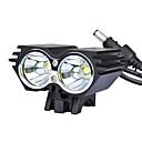 ieftine Frontale-LED Lumini de Bicicletă Iluminat Bicicletă Față LED Ciclism montan Ciclism Rezistent la apă Moduri multiple Foarte luminos 18650 Ciclism / IPX-4