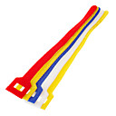 cheap Travel Comfort-Hook & Loop Fastening Cable Ties Colorful 5 pcs