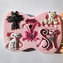 preiswerte Anime Cosplay-Backwerkzeuge Silikon Umweltfreundlich Kuchen / Plätzchen / Chocolate Kuchenformen 1pc
