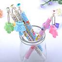 ieftine Instrumente Scris & Desen-Stilou Stilou Pixuri cu Bilă Stilou, MetalPistol Albastru Culori de cerneală For Rechizite școlare Papetărie Pachet de