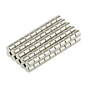 cheap Magnet Toys-100 pcs D3*3mm Magnet Toy Building Blocks Super Strong Rare-Earth Magnets Neodymium Magnet Magnet Magnetic Kid's / Adults' Boys' Girls' Toy Gift