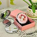 Недорогие Оригинальные подарки на заказ-Персональный подарок Дрожь Стиль Розовый Chrome компактное зеркало