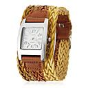 cheap Women's Watches-Women's Quartz Band Black / White / Brown - Black Rose Brown