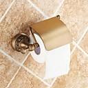 رخيصةأون أدوات الحمام-حاملة ورق التواليت جودة عالية تقليدي نحاس 1 قطعة - حمام الفندق