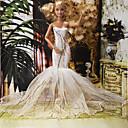 ieftine Haine Păpușă Barbie-Rochie de papusa Petrecere / Seară Pentru Barbie Poliester Rochie Pentru Fata lui păpușă de jucărie