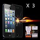 hesapli iPhone 4s / 4 İçin Ekran Koruyucular-Ekran Koruyucu Apple için iPhone 6s iPhone 6 3 parça Ön Ekran Koruyucu Patlamaya dayanıklı