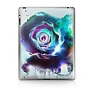 hesapli iPad Stickerları-1 parça Arka Koruyucu için Çiçek iPad 2 iPad 3 iPad 4