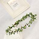 رخيصةأون مجوهرات الشعر-للمرأة / بنت الزهرة الحرير خوذة-زفاف / مناسبة خاصة أكاليل الزهور