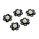 hesapli LEDler-ZDM® 5pcs Yüksek Güçlü 100-120 lm 3 V Parlak / Ampul Aksesuarı LED Çip Aluminyum DIY LED Taşkın Işık Spot için / Duvar Işığı için 1 W