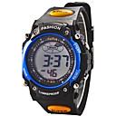 Χαμηλού Κόστους ρολόγια-Ψηφιακό Ψηφιακό ρολόι / Αθλητικό Ρολόι Συναγερμός / Ημερολόγιο / Χρονογράφος / Απίθανο / LCD καουτσούκ Μπάντα Μοντέρνα Μαύρο