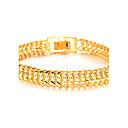preiswerte Armbänder-Herrn Bettelarmbänder - 18K vergoldet, vergoldet Armbänder Für Weihnachts Geschenke Hochzeit Party