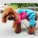preiswerte Hundehalsbänder, Geschirre & Leinen-Hunde - Winter - Baumwolle - Cosplay - Blau / Gelb / Rose - Hosen - XXS / XS / S / M / L