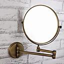 olcso Fürdőszobai kütyük-Fürdőszobai kütyü Állítható Antik Sárgaréz / Üveg 1 db - Tükör zuhany kiegészítők