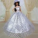 ieftine Haine Păpușă Barbie-Rochie de papusa Petrecere / Seară Pentru Barbie Dantelă organza Rochie Pentru Fata lui păpușă de jucărie