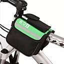 hesapli Bisiklet Çantaları-BOI 8 L Bisiklet Çerçeve Çantaları / En Tüplü Çanta Su Geçirmez, Yansıtıcı Bisiklet Çantası Polyester Bisikletçi Çantası Bisiklet Çantası Bisiklete biniciliği / Bisiklet