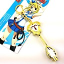 preiswerte Anime Cosplay-Schmuck Inspiriert von Fairy Tail Cosplay Anime Cosplay Accessoires Halsketten Aleación Damen heiß Halloween Kostüme