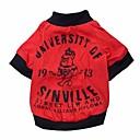 preiswerte Bekleidung & Accessoires für Hunde-coole stattlicher Kerl Muster aus 100% Baumwolle T-Shirt für Hunde (verschiedene Größen)