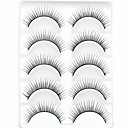 cheap Makeup & Nail Care-new 5 pairs european sytle natural black long thick false eyelashes stylish eyelash for eye extensions