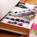 hesapli Saklama ve Organizasyon-Plastik Açık Ev organizasyon, 1set Depolama / Saklama Kutuları