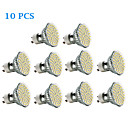 abordables LED à Double Broches-3W 300-350 lm GU10 Spot LED 60 diodes électroluminescentes SMD 3528 Blanc Chaud Blanc Froid AC 220-240V