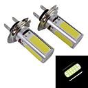 hesapli Araba Sis Lambaları-SO.K H7 Araba Ampul 10 W COB 1200 lm 4*2 Sis Işıkları