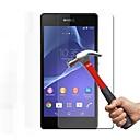 hesapli Huawei İçin Ekran Koruyucuları-Ekran Koruyucu Sony için Sony Xperia Z3 Temperli Cam 1 parça Yüksek Tanımlama (HD)