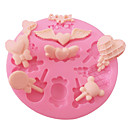 preiswerte Backzubehör & Geräte-Backwerkzeuge Silikon Umweltfreundlich / 3D Kuchen / Plätzchen / Obstkuchen Backform