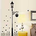 hesapli Dekorasyon Etiketleri-Dekoratif Duvar Çıkartmaları - Uçak Duvar Çıkartmaları Karton Oturma Odası / Yatakodası / Çalışma Odası / Ofis / Yıkanabilir / Çıkarılabilir