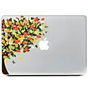 저렴한 Mac 스킨 스티커-1개 스티커 용 스크래치 방지 카툰 패턴 MacBook Air 13''