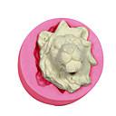 hesapli Fırın Araçları ve Gereçleri-kek dekorasyon aslan kalıp silikon aslanlar fondan şeker el sanatları takı çikolata pmc reçine kil kalıp kafa