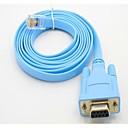 hesapli USB Kabloları-rj45 kablo kafa veri satırı anahtarı yapılandırma hattında rs232 db9 com seri port