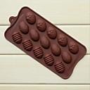 preiswerte Backzubehör & Geräte-Mode Silikonschokoladenseife Eis Pudding Kuchen Dekorieren Form Küche Backformen Kochen Werkzeuge (gelegentliche Farbe)