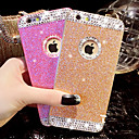 cheap Headsets & Headphones-Case For Apple iPhone X / iPhone 8 / iPhone 6 Plus Rhinestone Back Cover Glitter Shine Hard PC for iPhone X / iPhone 8 Plus / iPhone 8