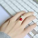 baratos Anéis-Mulheres Anel de banda - Acrílico, Strass, Liga Borboleta, Animal Aberto Ajustável Para Casamento / Festa / Diário