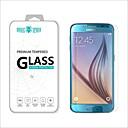 hesapli Samsung İçin Ekran Koruyucuları-Ekran Koruyucu Samsung Galaxy için S6 Temperli Cam Ön Ekran Koruyucu Yüksek Tanımlama (HD)