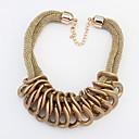 hesapli Kolyeler-Kadın's Uçlu Kolyeler - Avrupa, Moda Altın, Siyah Kolyeler Mücevher Uyumluluk