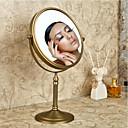 رخيصةأون أدوات الحمام-مرآة أنتيك نحاس 1 قطعة - مرآة مستحضرات التجميل ميرور / دش الملحقات
