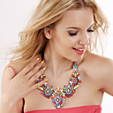 Buy Women's Statement Necklaces Synthetic Gemstones Alloy Fashion Jewelry Cute Style European Party Special Occasion