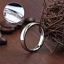 baratos Acessórios de Moda Personalizados-Jóias Personalizadas prata - Anéis - de Aço Inoxidável